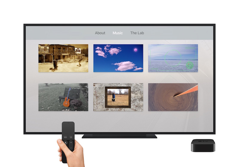 Surround Sound Ear Candy for tvOS Brings Innovative Music App-Album to the New Apple TV