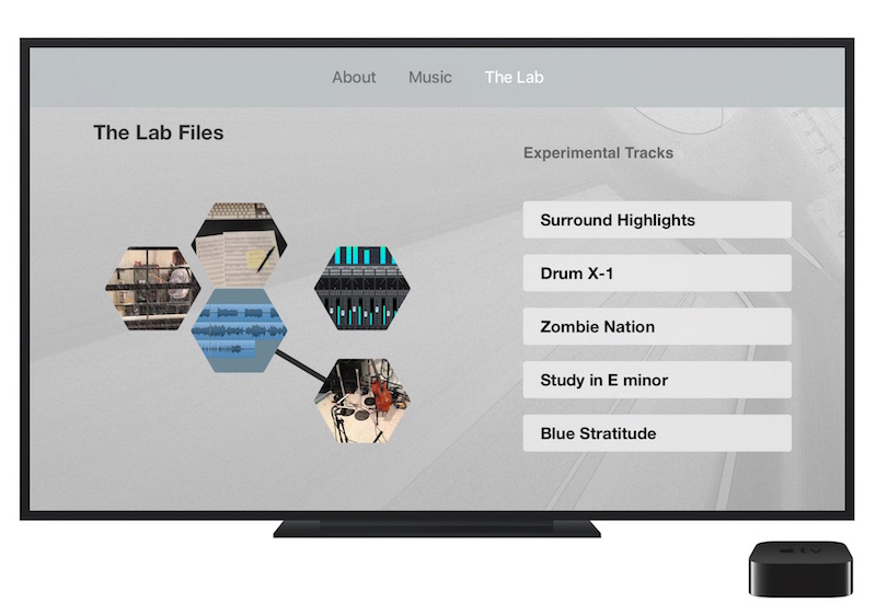 Surround Sound Ear Candy Lab Page image