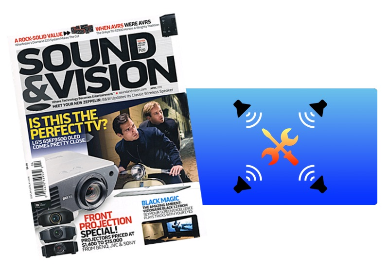 Sound & Vision Magazine Picks Surround Speaker Check as a Favorite tvOS App!