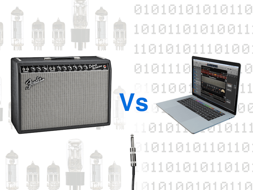 Tube Amp Vs Modeling Software Shootout Part 1: Fender Deluxe Reverb