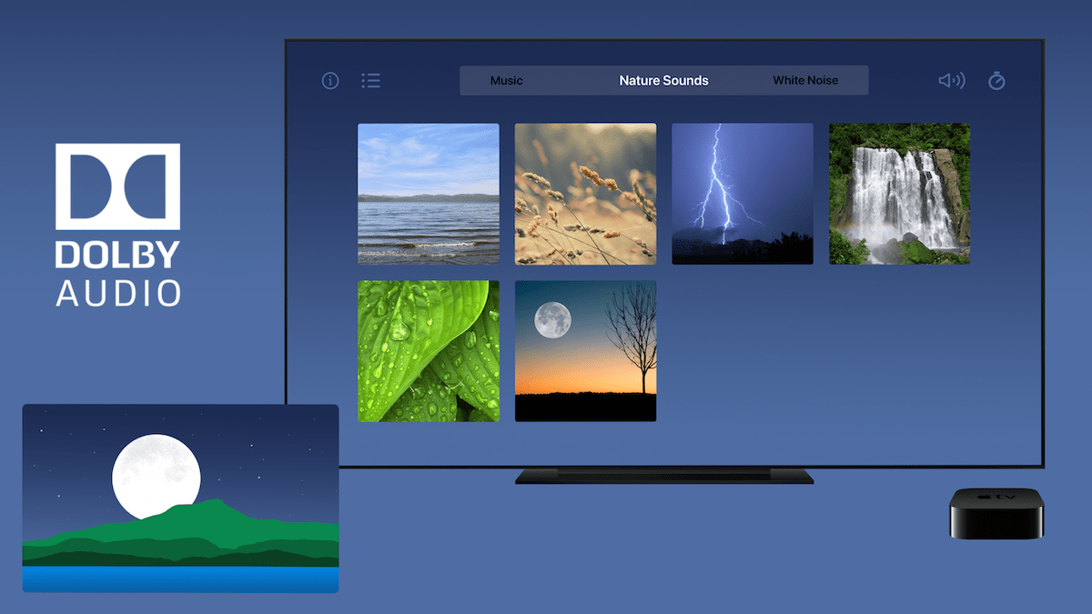 Vermont Sleep Sounds & Music Brings Relaxing Spatial Audio Soundscapes to the Apple TV